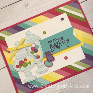 Another birthday card easy to make!
