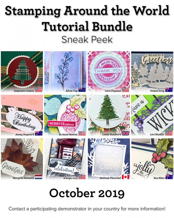 SATW - Tutorial Bundle for October