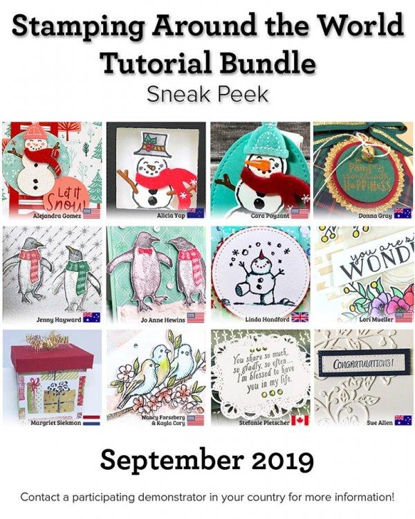 September SATW tutorial bundle