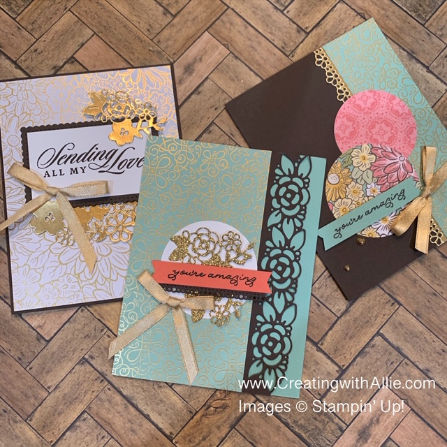 how to make handmade cards using patterned paper and sketches