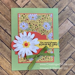 how to make handmade cards using patterned paper for your friends
