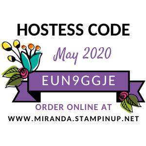 Hostess Code May 2020
