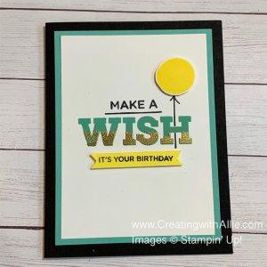 Birthday handmade cards for a friend