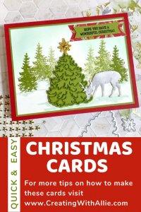 Easy Handmade Christmas Card to make