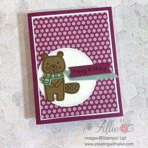Cute Handmade Birthday Card for a Friend